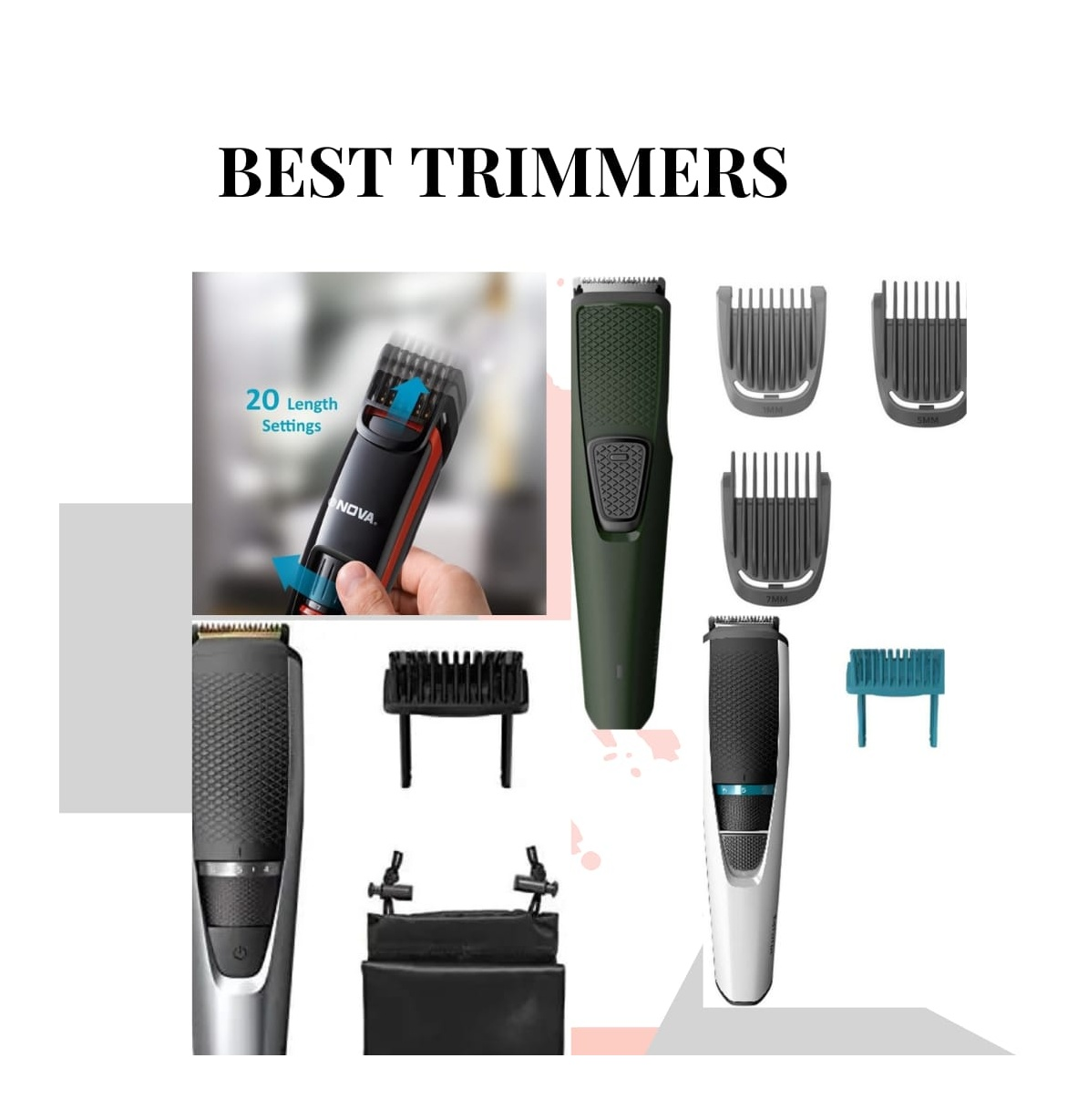 The Best Beard Trimmers For Alpha & Sigma Men!