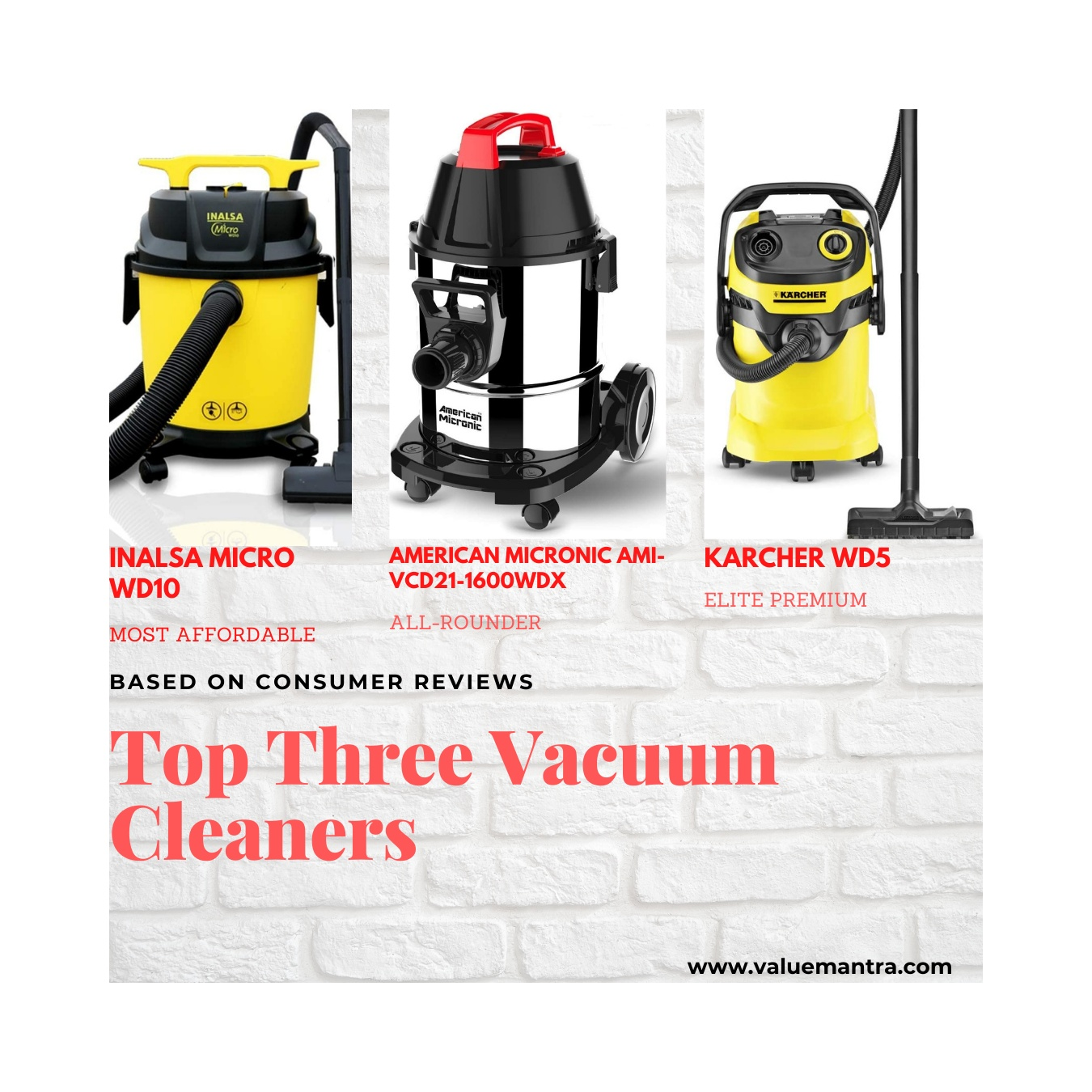 The Best Wet & Dry Vacuum Cleaner for Indian Homes!