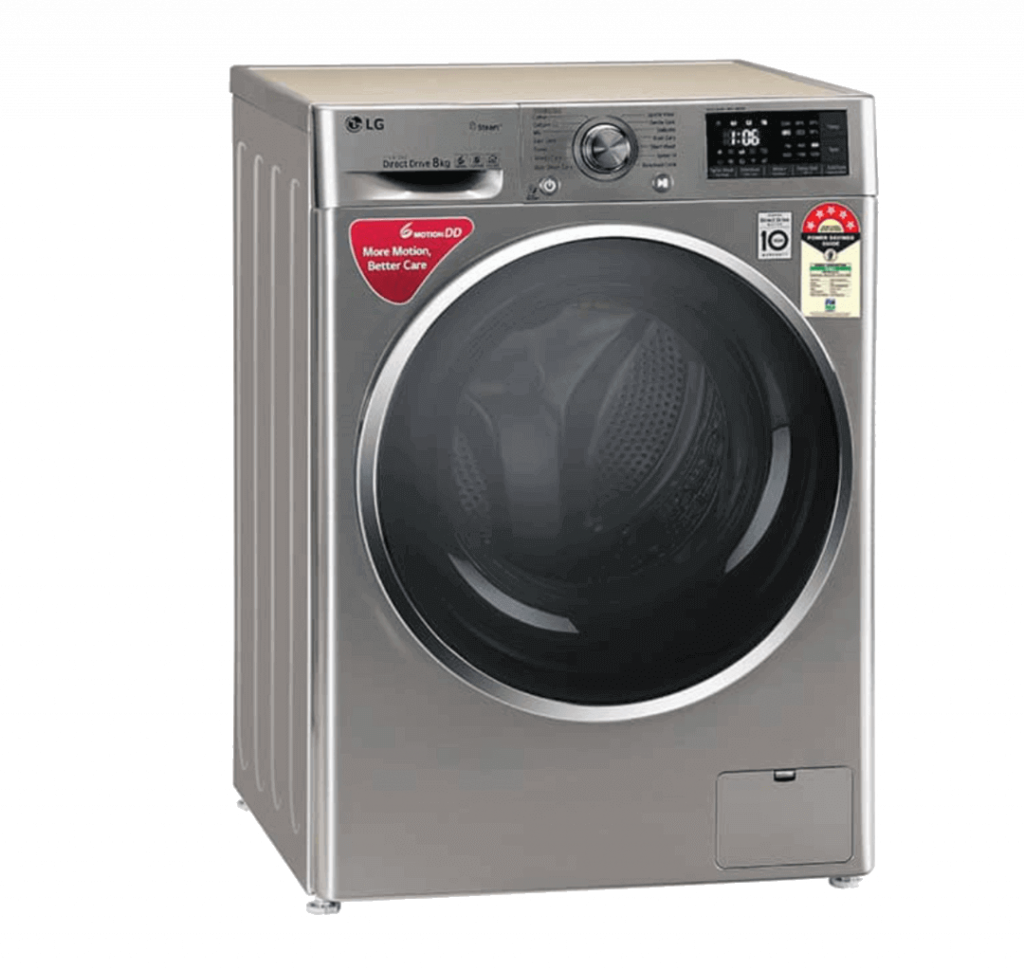 LG 8 kg 5-Star Fully Automatic Front Load Washing Machine