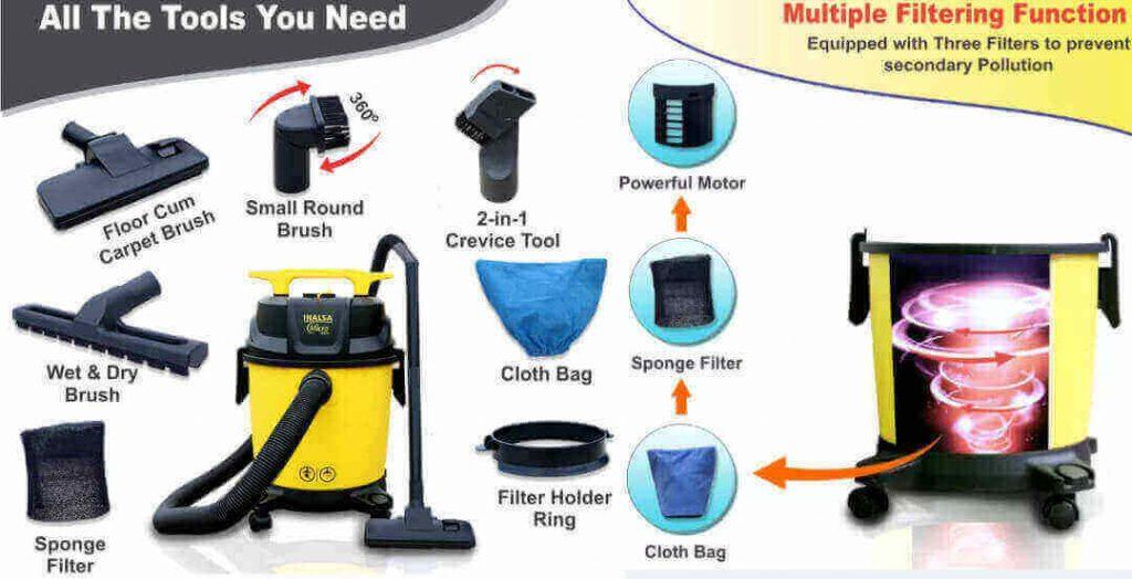 Inalsa Vacuum Cleaner Accessories