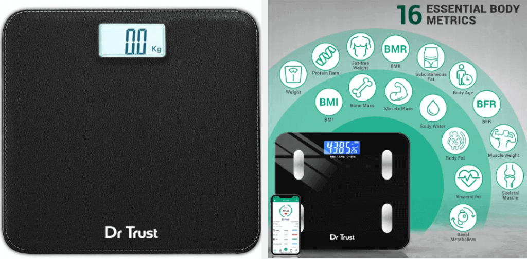 dr trust fat analyzer weighing scale
