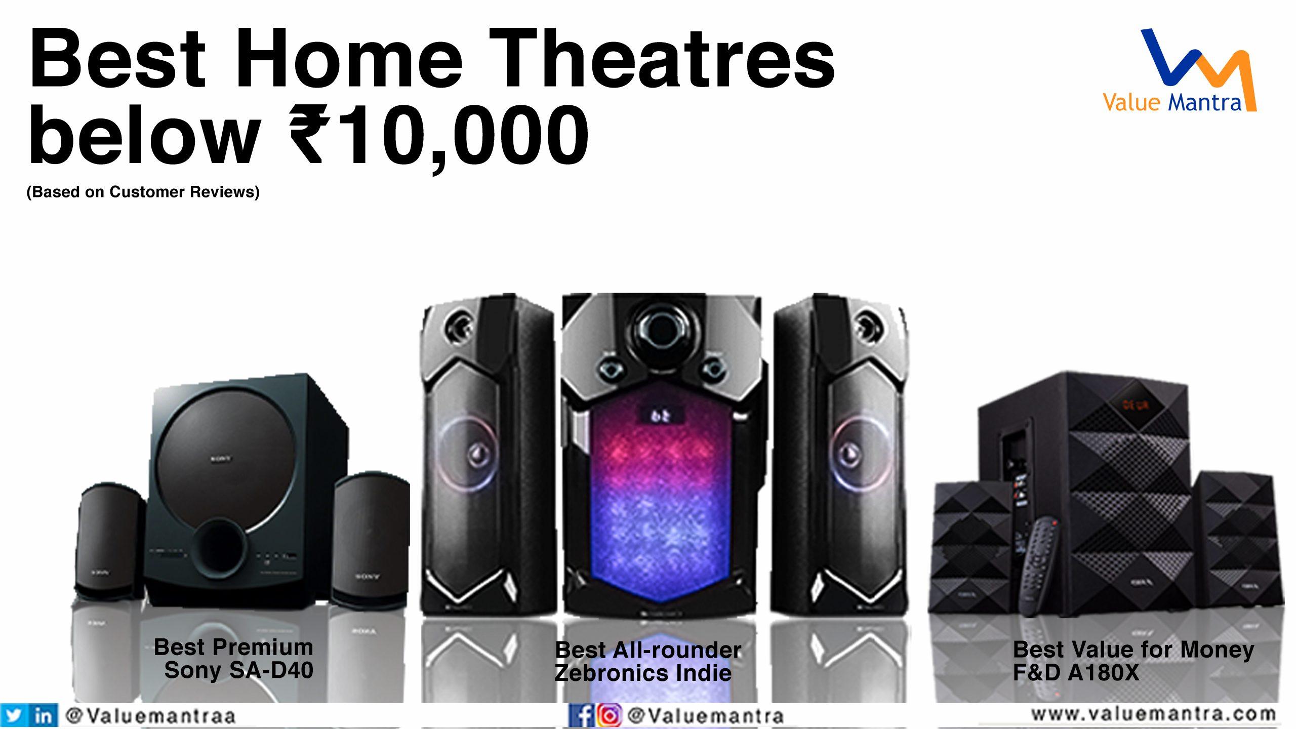 Best Home Theatre system under 10000