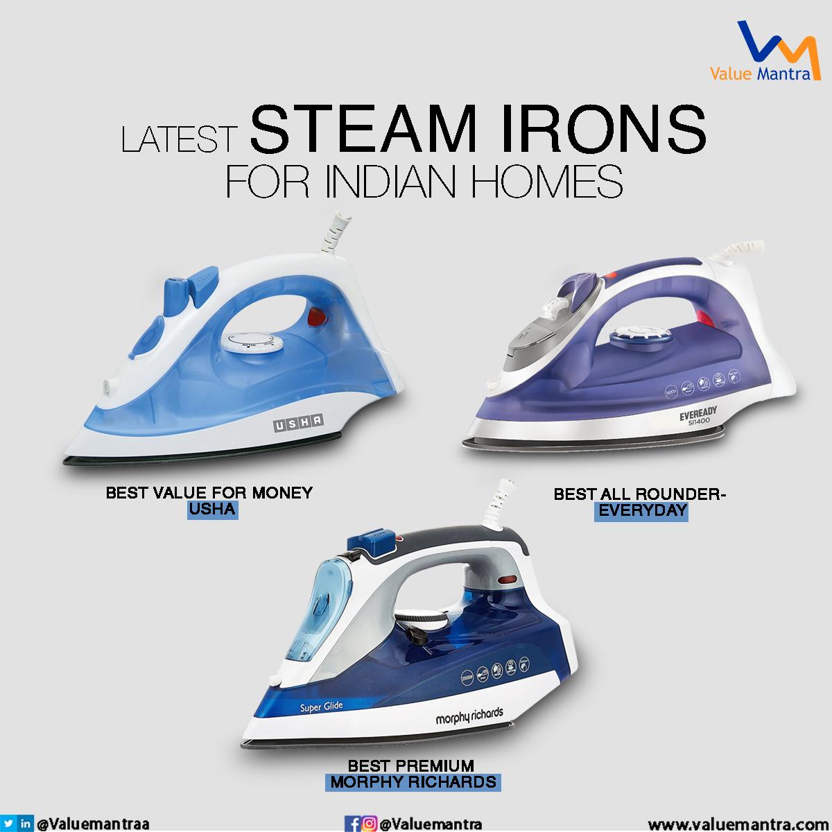 Best steam iron – Garment steamer