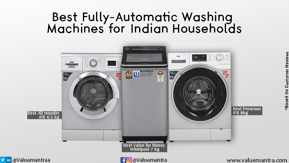 Best washing machines in India (2021)