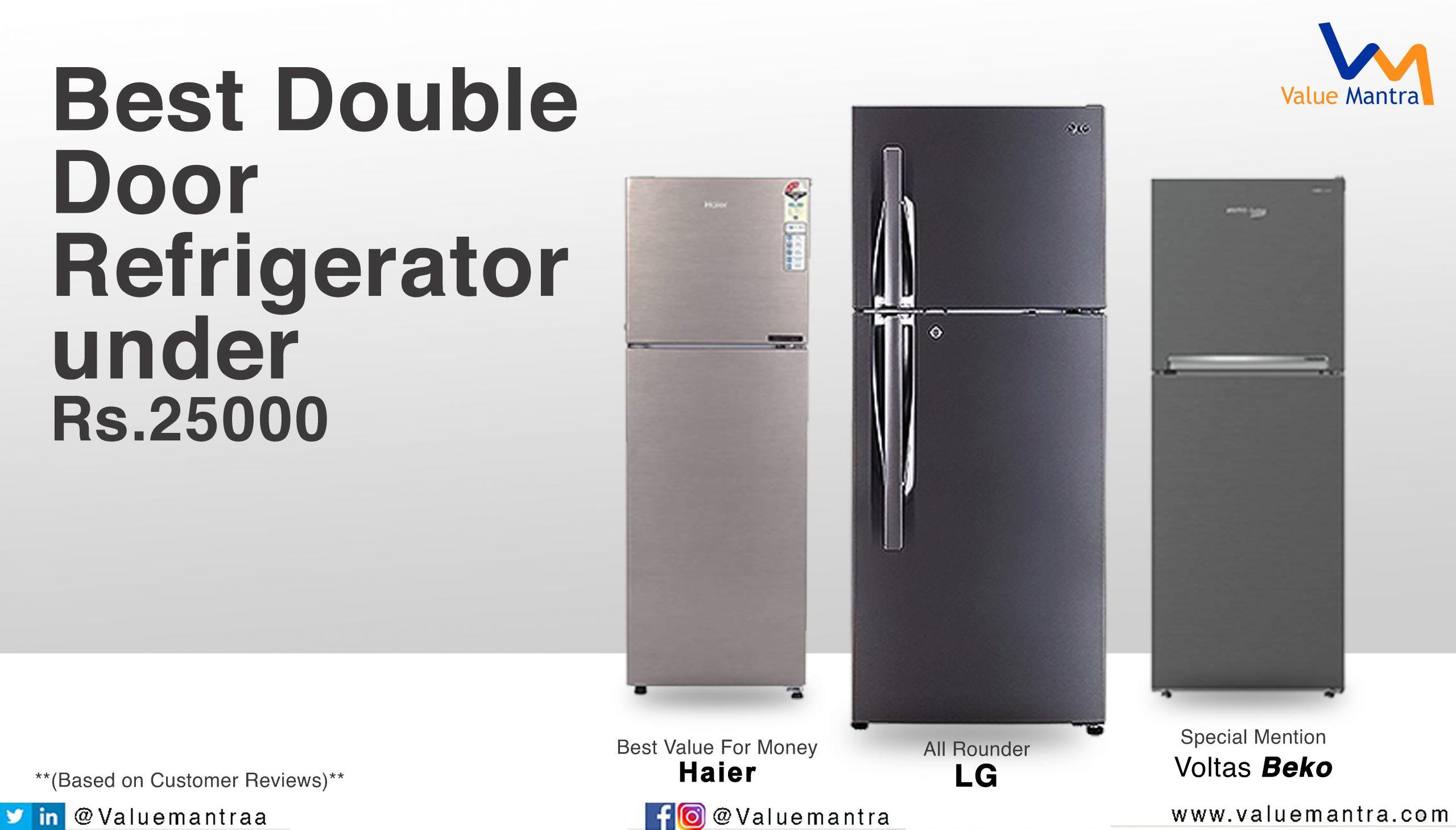 Best double door refrigerator – 5 star fridge (2021)