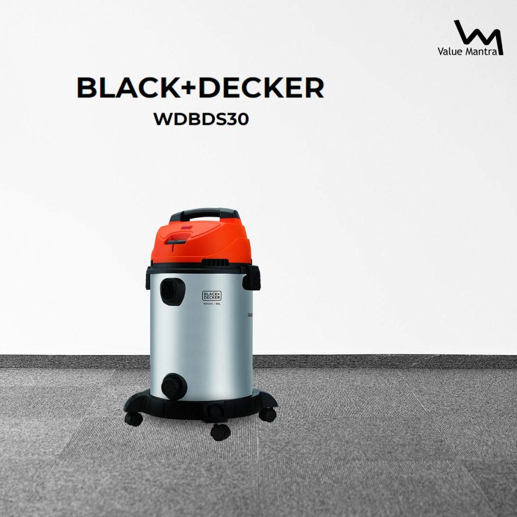 Black & Decker WDBDS30 Wet & Dry Vacuum Cleaner