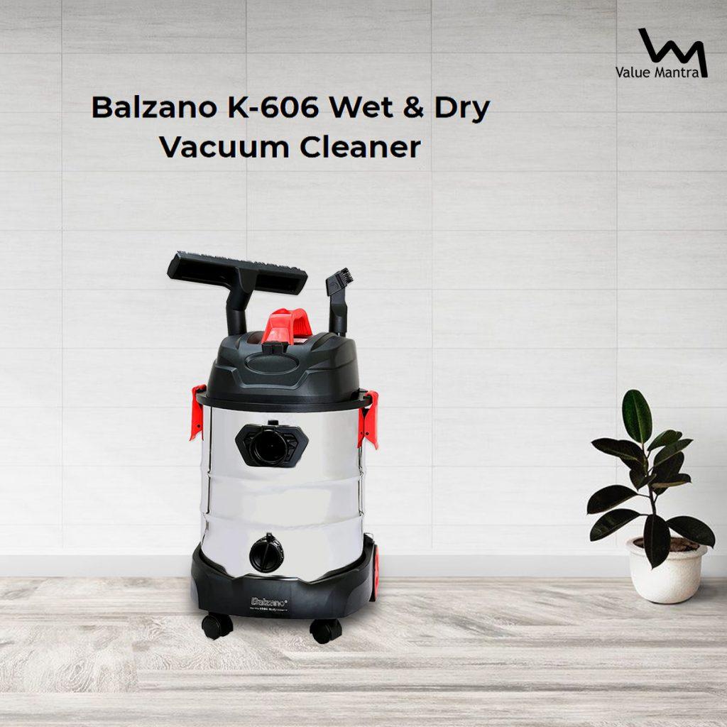Balzano K-606 Wet Dry Vacuum Cleaner
