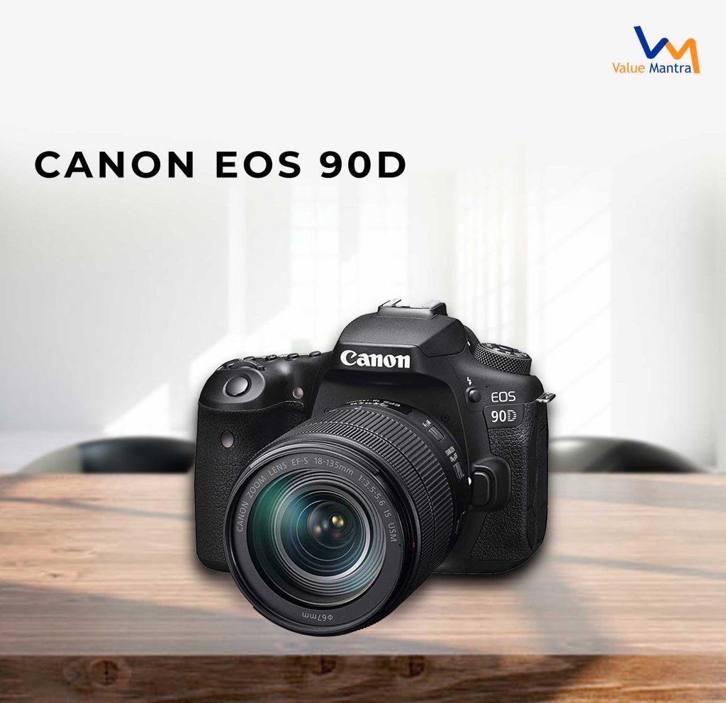 Canon EOS 90 D camera