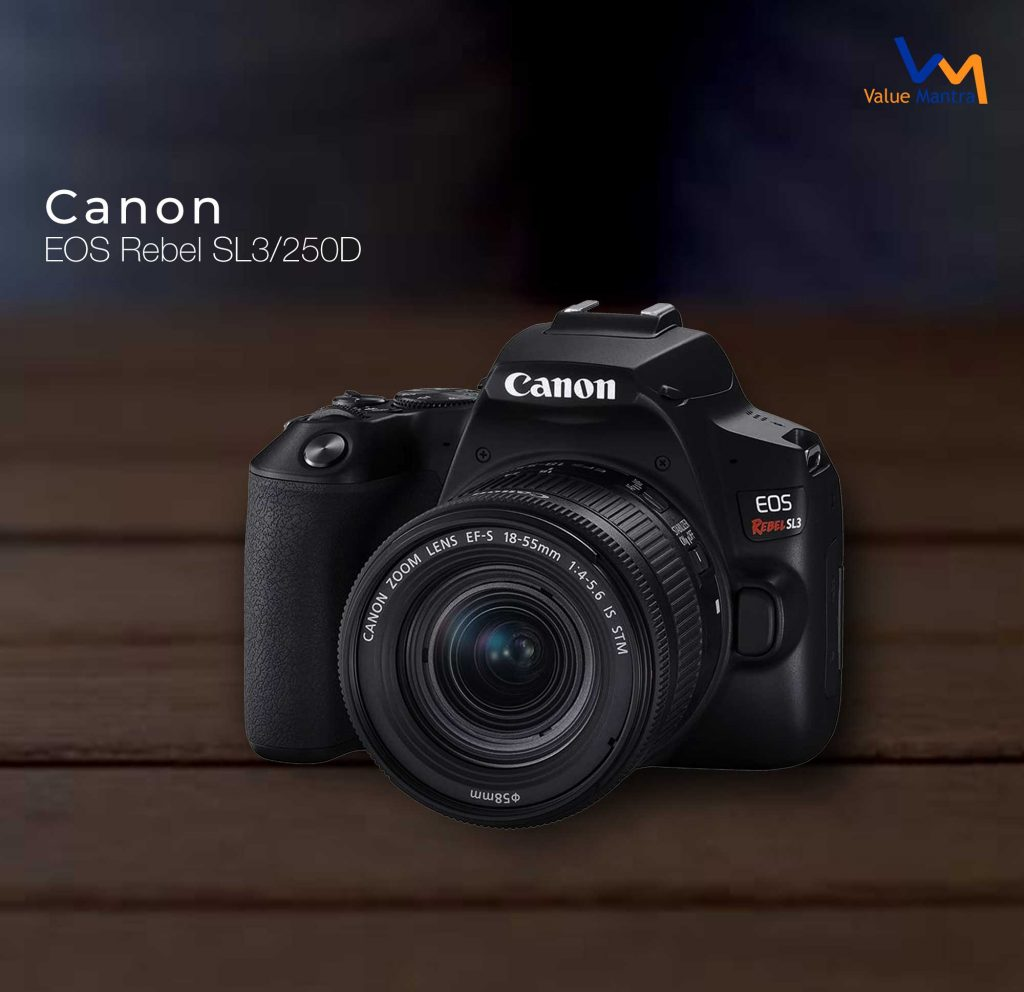 Canon EOS Rebel SL3/250D camera