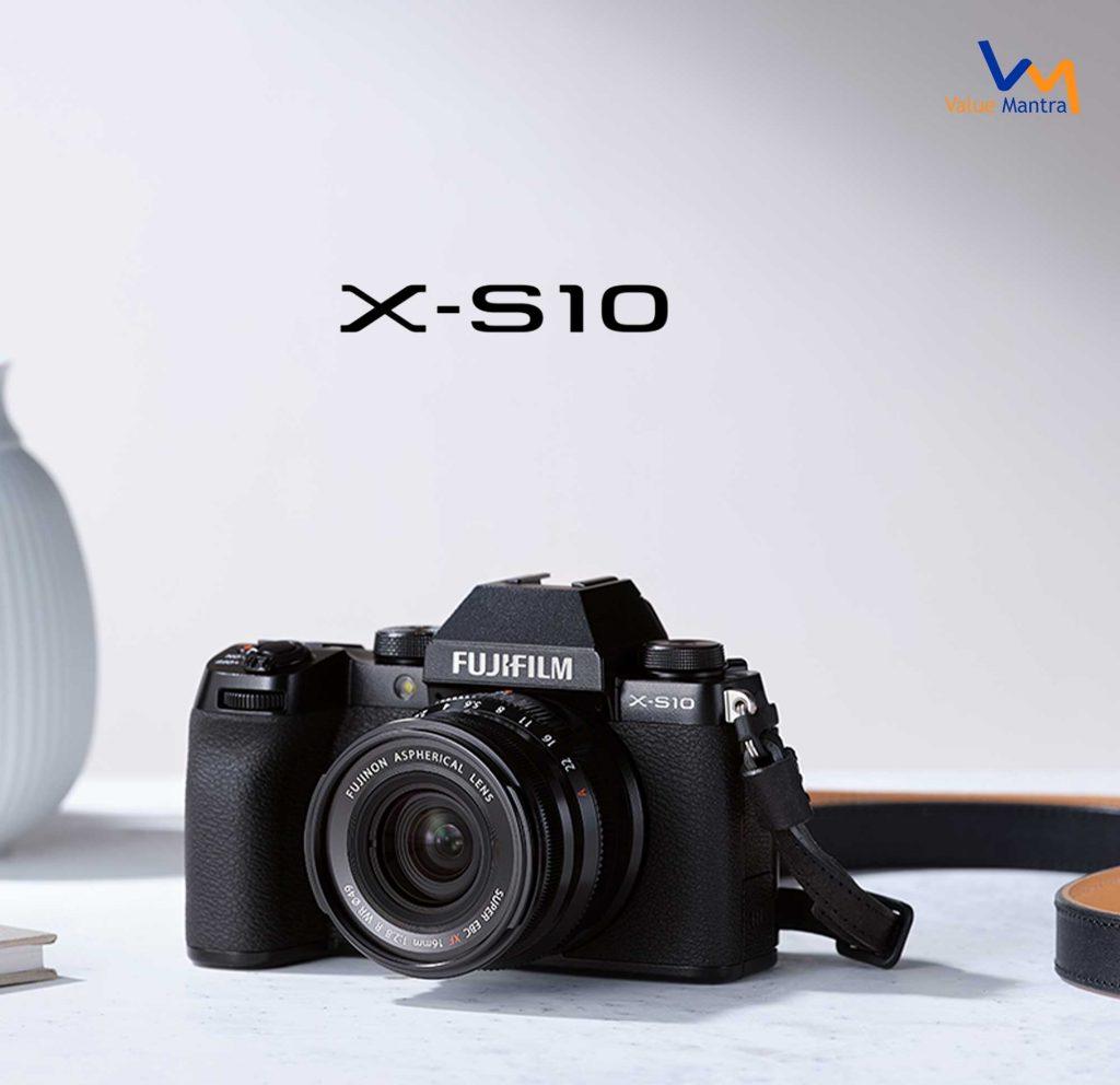 Fujifilm X-S10 camera