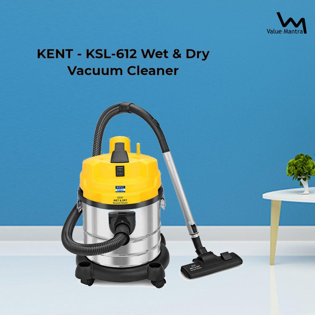 KENT KSL-612 Wet Dry Vacuum Cleaner