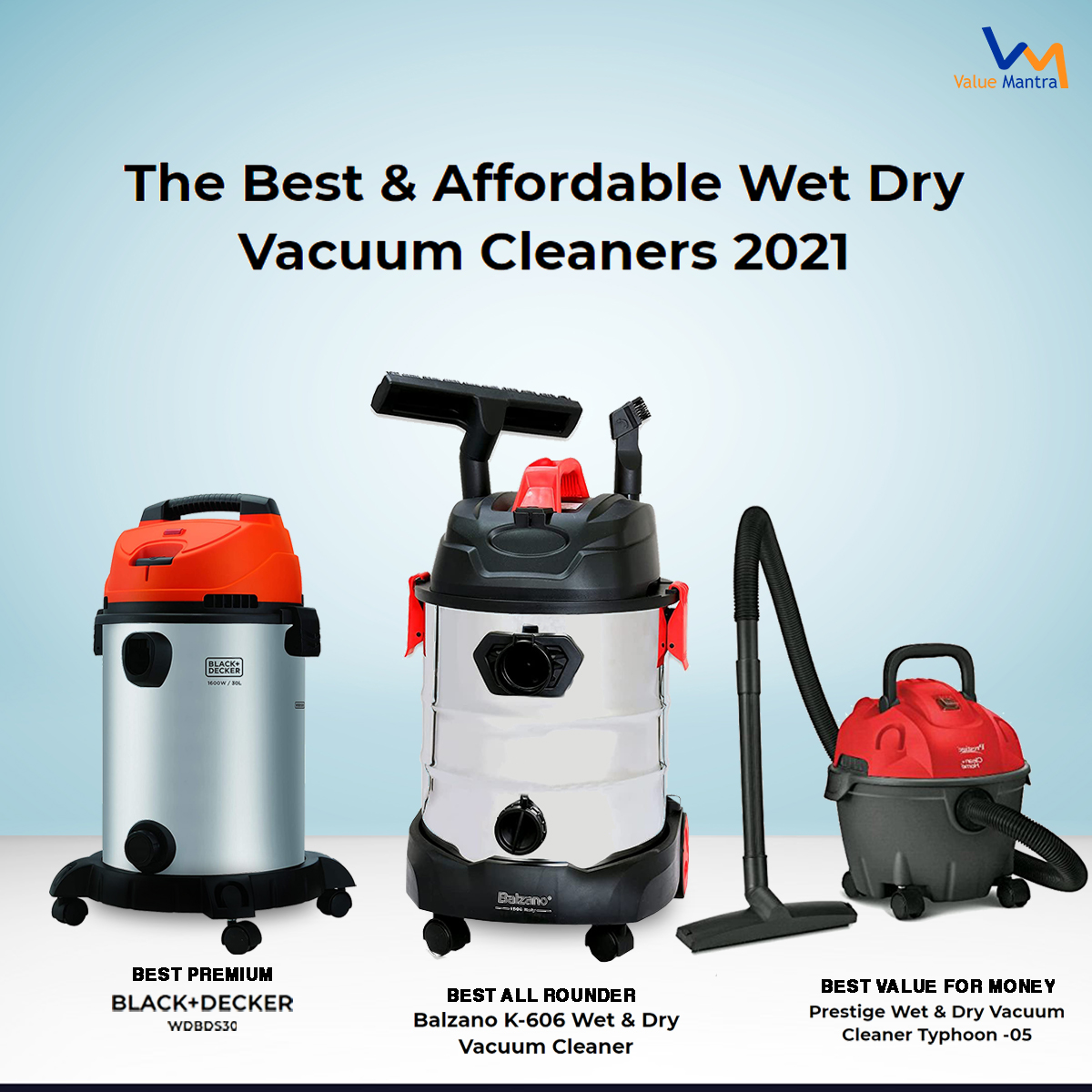 Best vacuum cleaner for home (2021)