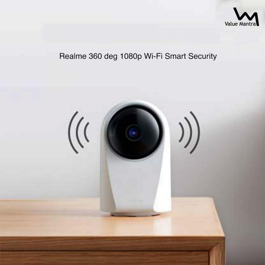 realme wifi security cctv camera