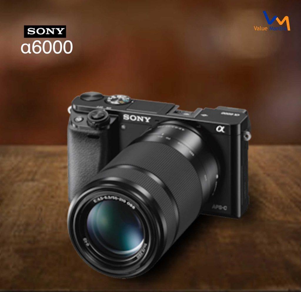 Sony A6000 camera