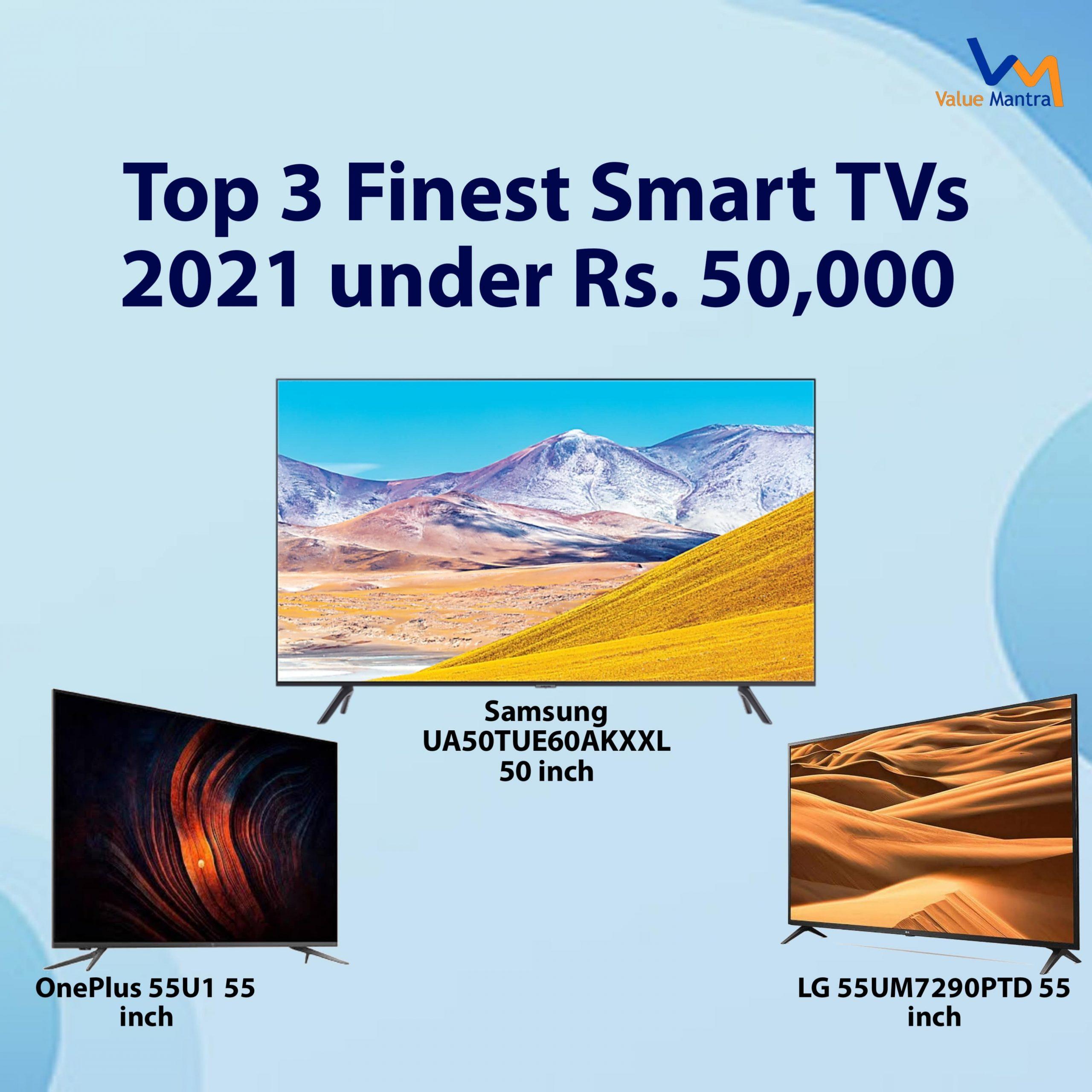 Best smart TV's under 50000 – android tv