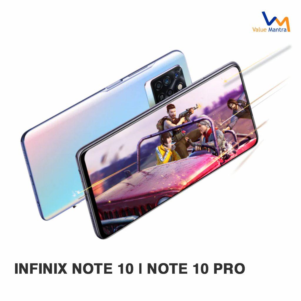 Infinix Note 10 gaming phone