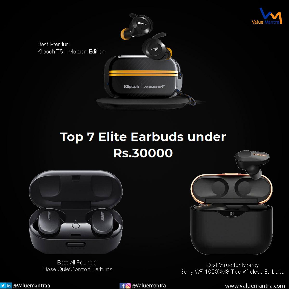 Best tws earbuds – under 30000