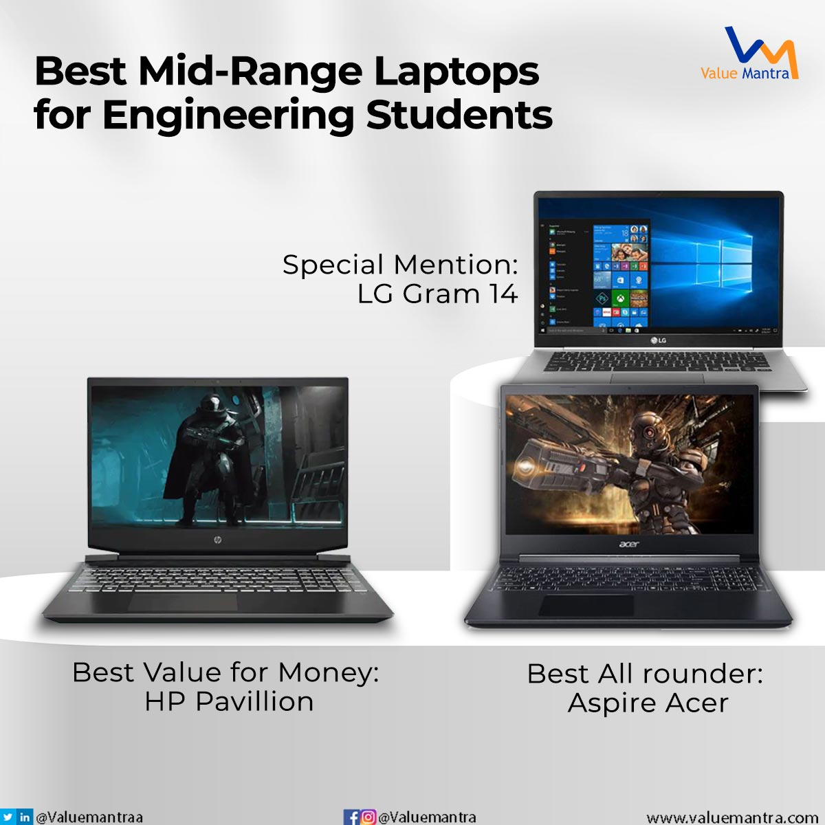 Best laptops for engineering students (2021)