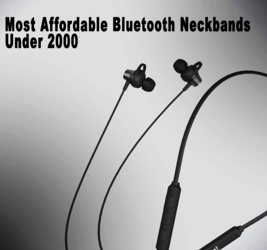 Best neckband under 2000 – Bluetooth earphones (2021)