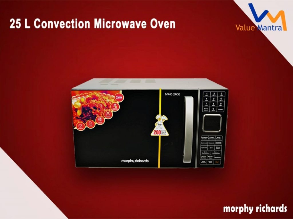 Morphy Richards 25L microwave oven