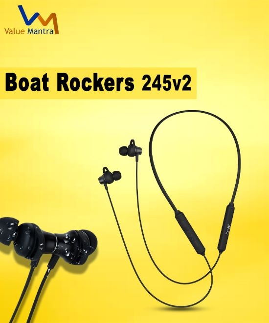 boAt Rockerz 245v2 bluetooth earphones