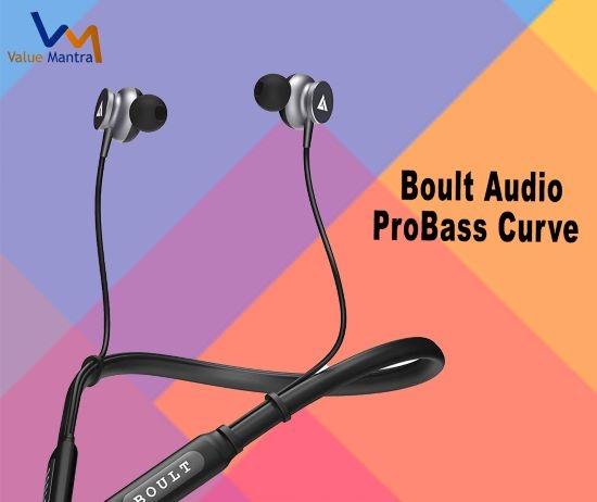 Boult Audio ProBass bluetooth earphones