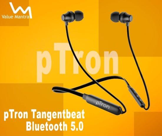pTron Tangentbeat bluetooth earphones