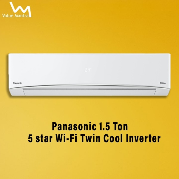 Panasonic 1.5 Ton 5 Star ac