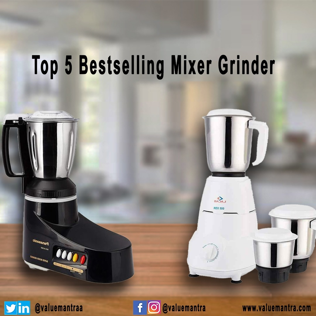 Best Mixer Grinders For Modular Indian Homes (2021)