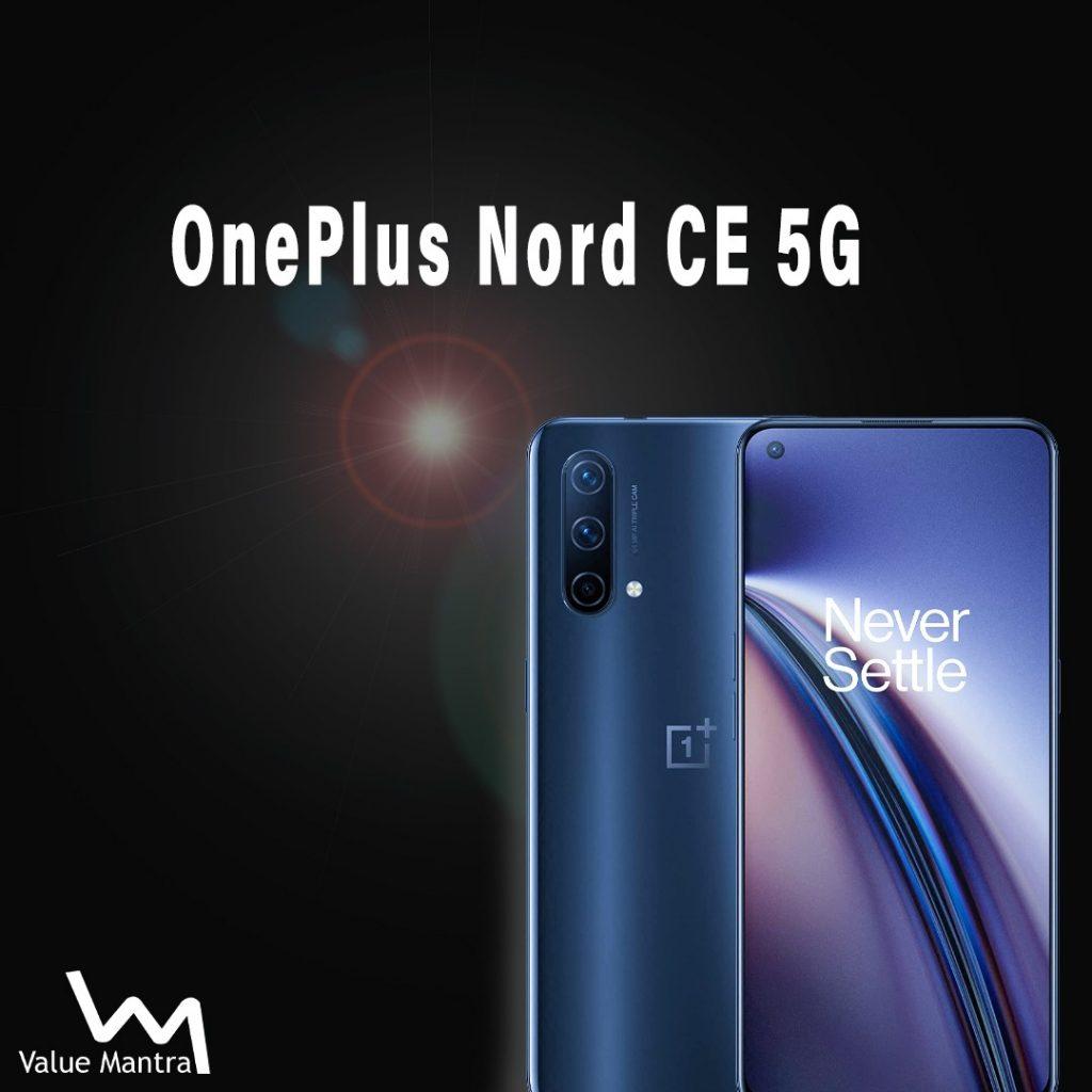 OnePlus Nord 5g smartphone