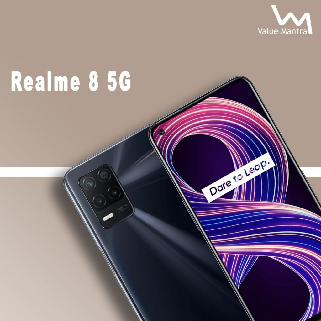 Realme 8 5G smartphone