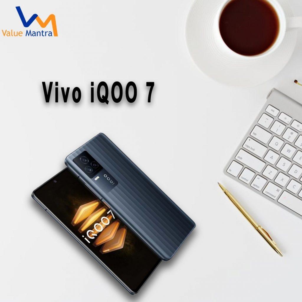 Vivo iQOO 7 smartphone