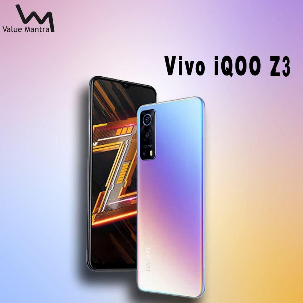 Vivo iQoo Z3 5g smartphone