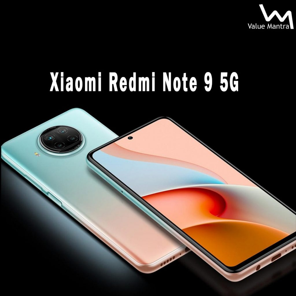 Xiaomi Redmi Note 9 5G smartphone
