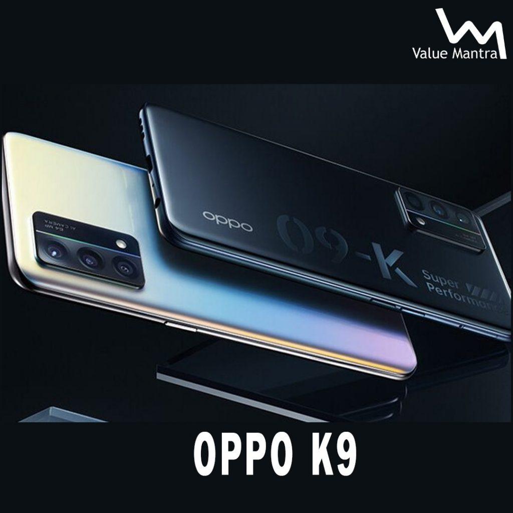 OPPO K9 gaming smartphone