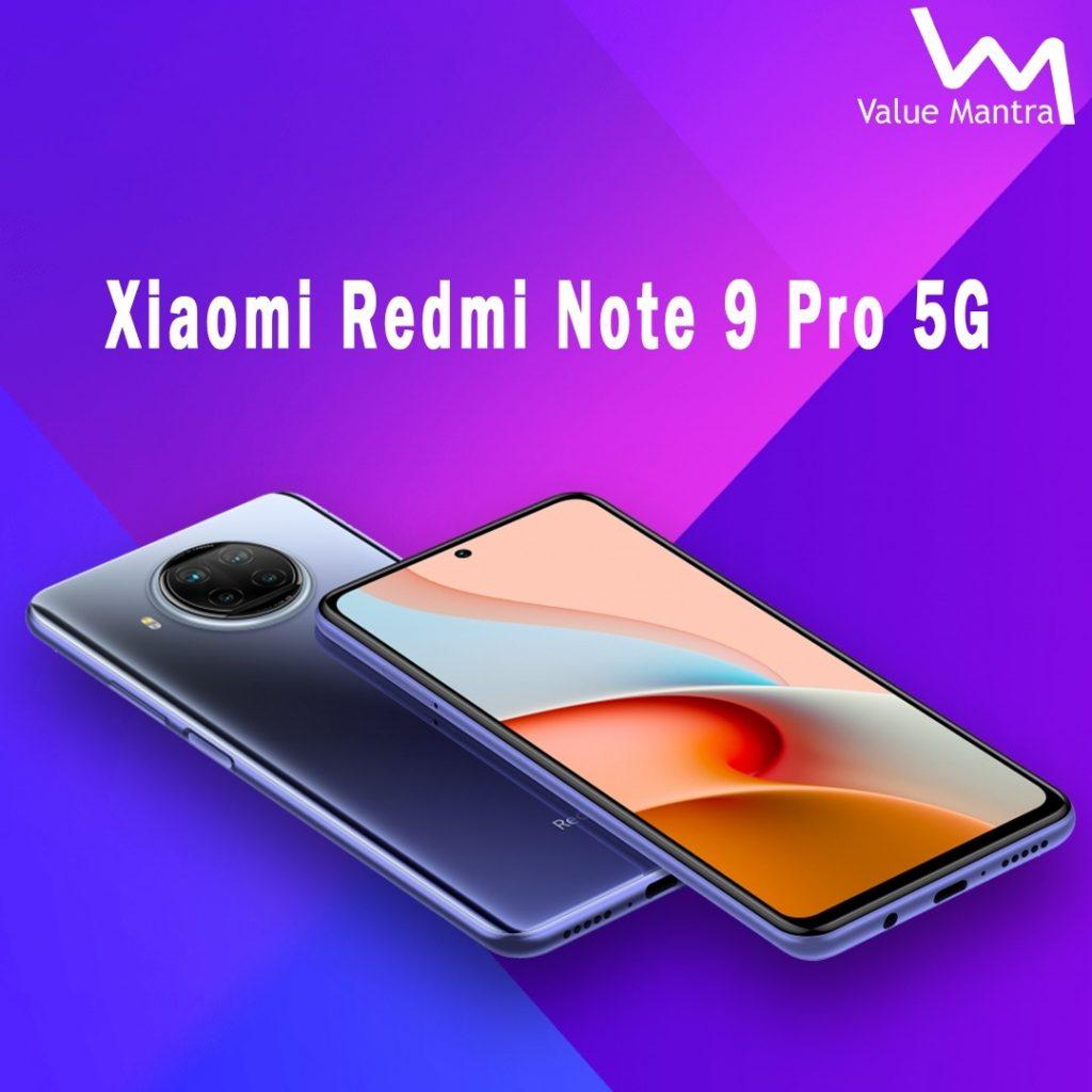 Xiaomi Redmi Note 9 Pro 5G mobile
