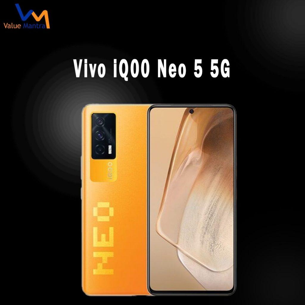 Vivo iQOO Neo 5G smartphone