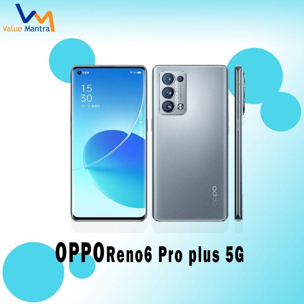 OPPO Reno 6 Pro Plus 5G smartphone