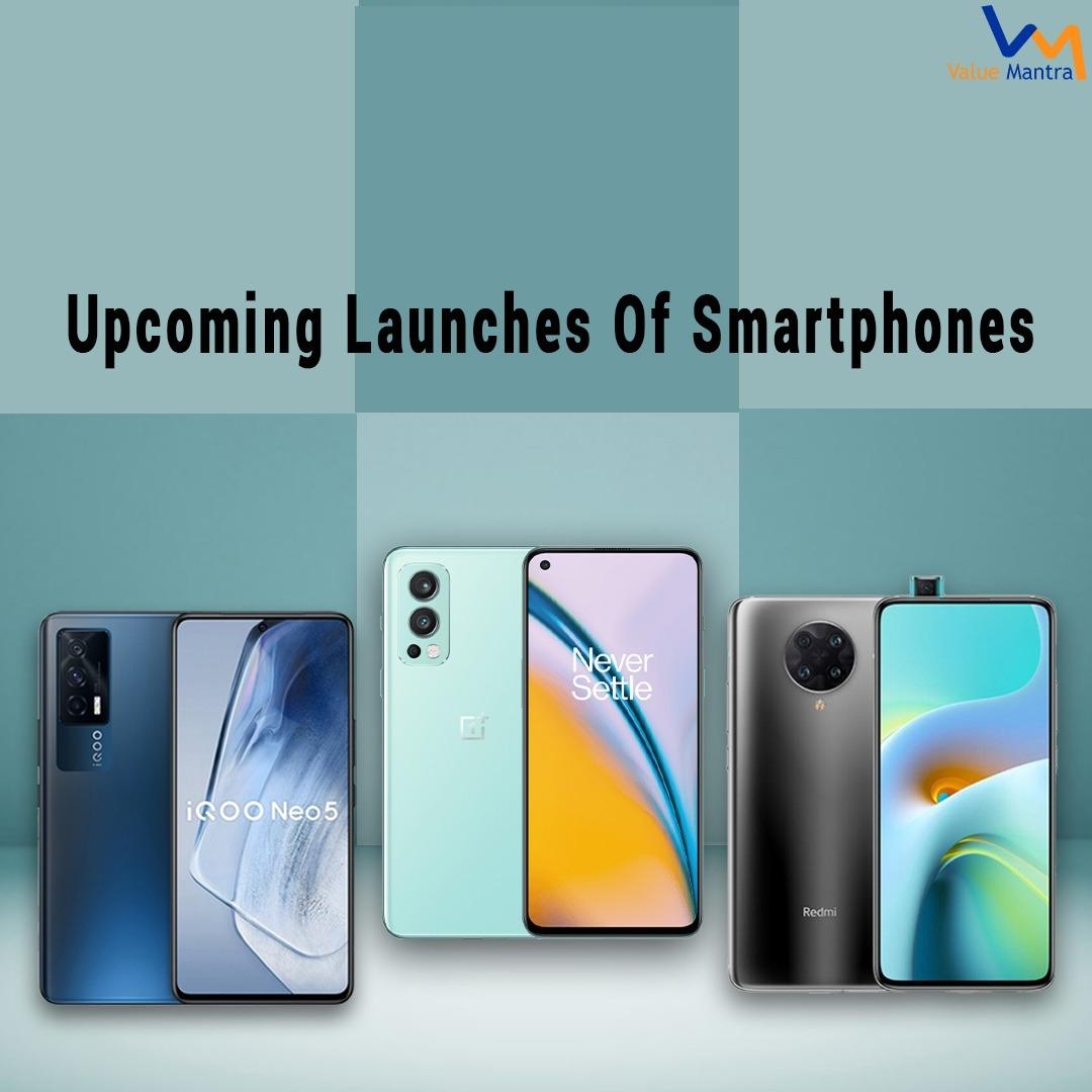 Best Upcoming Smartphones in India 2021