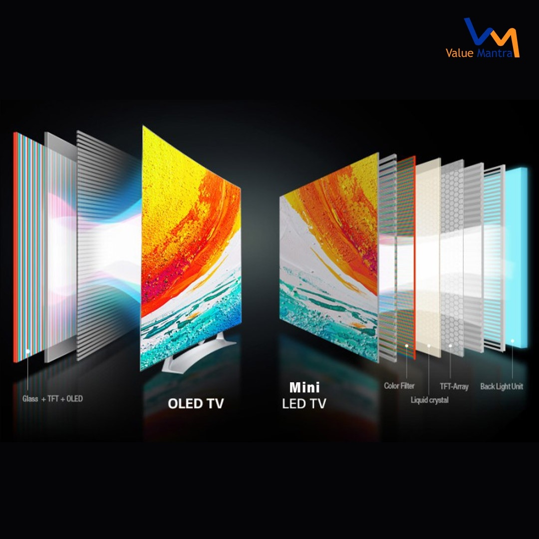 OLED v/s Mini LED: Which One is Better?