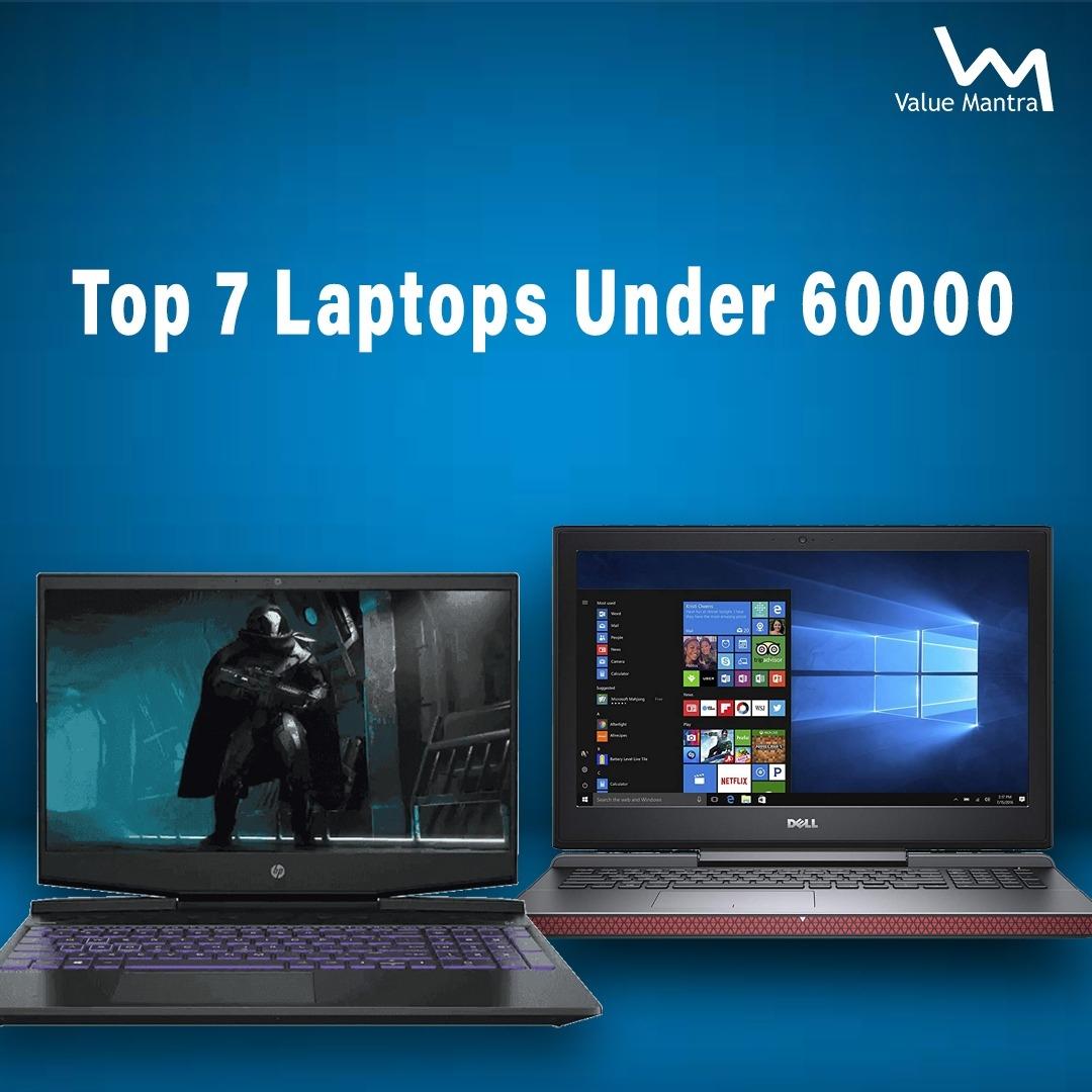 Premium laptops under 60000 in India (2021)