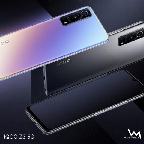 IQOO Z3 5G camera smartphone