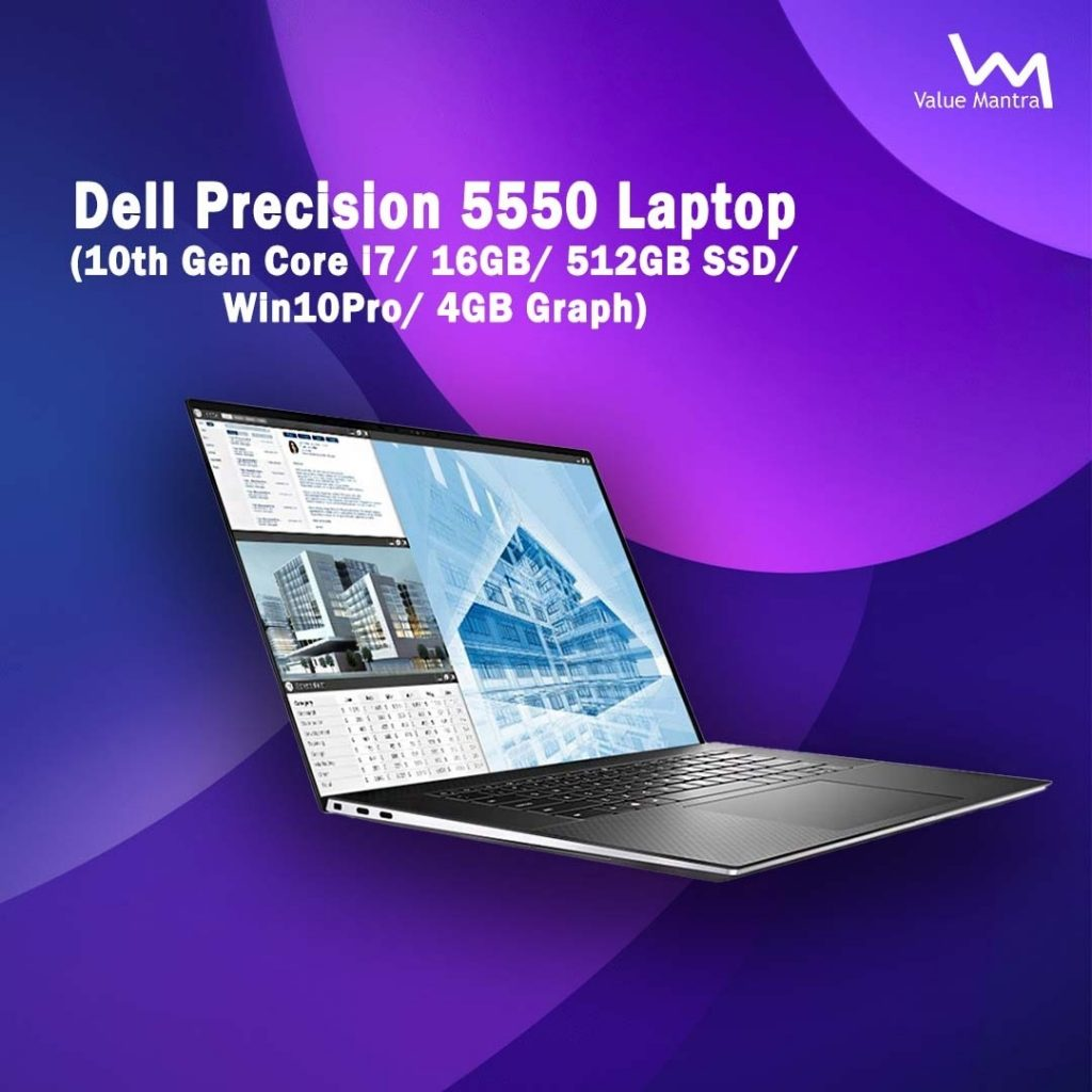 Dell Precision 5550 gaming laptop