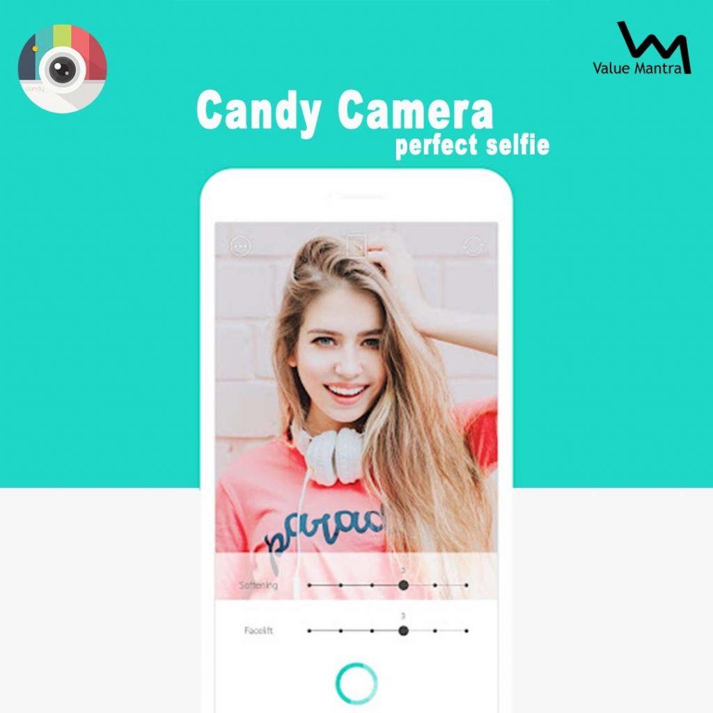 Candy camera best selfie app