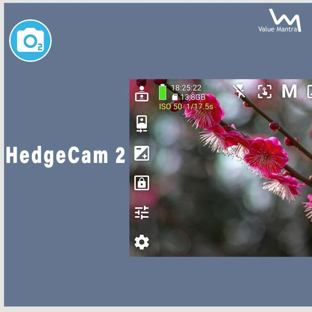 hedge cam 2 best selfie app